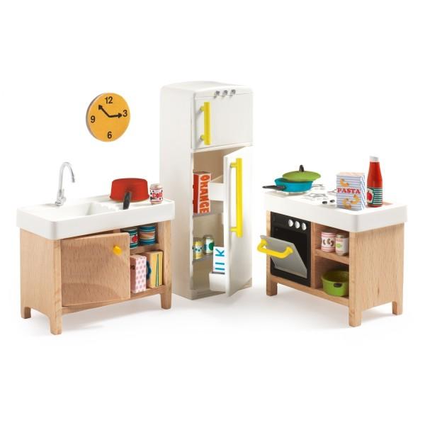 Puppenhaus Einrichtung, Küche