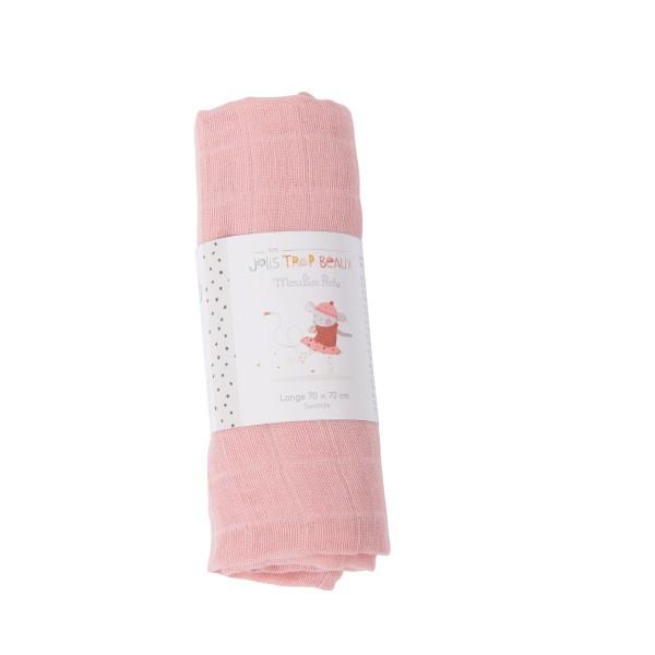 Mulltuch rosa