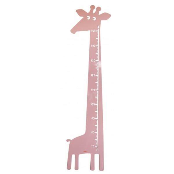Messlatte Giraffe rosa