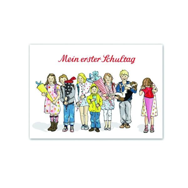Postkarte Schulanfang