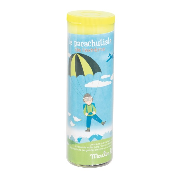 Extrem-Fallschirmspringer, grün les petites merveilles