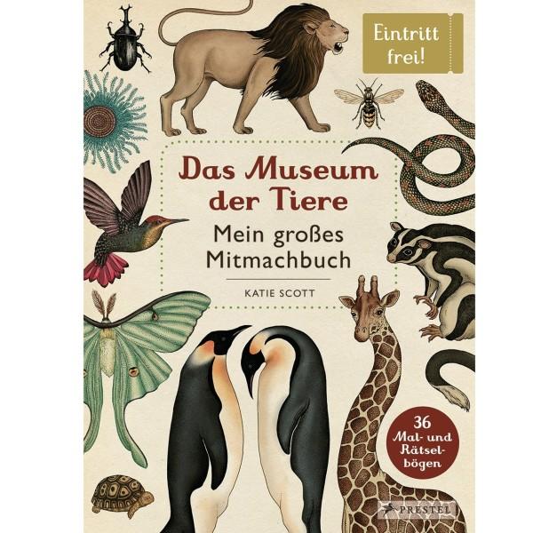 ARVATO MEDIA Das Museum der Tiere - Mitmachbuch