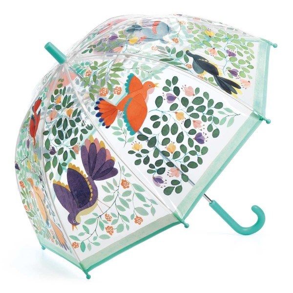 Regenschirm Blumen &Vögel