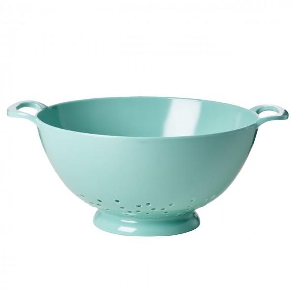 Melamin Sieb Pastel Green Medium