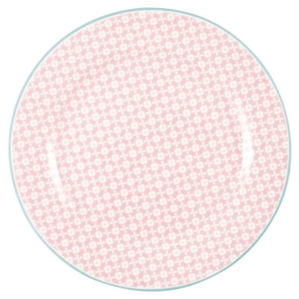 Teller Helle pale pink
