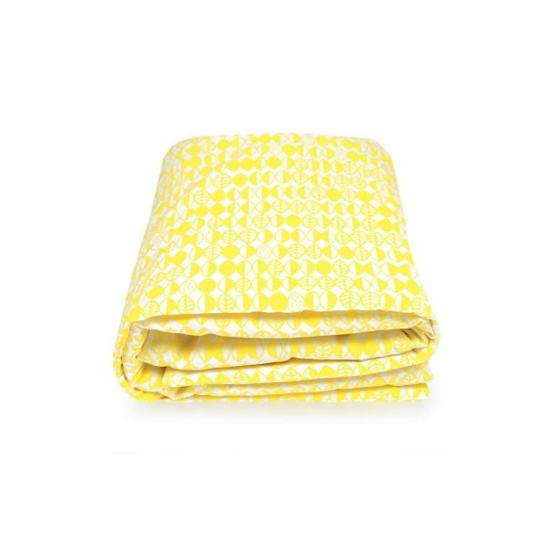 Krabbeldecke gelb