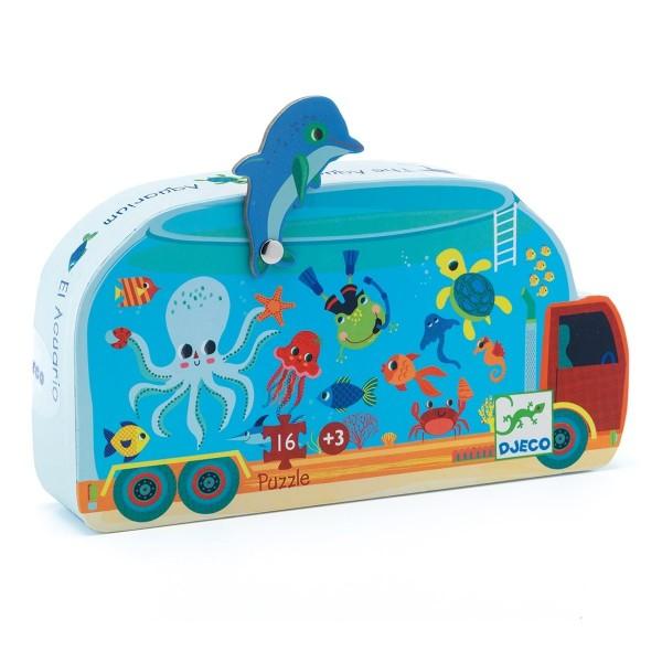 Puzzle: Aquarium - 16 Teile
