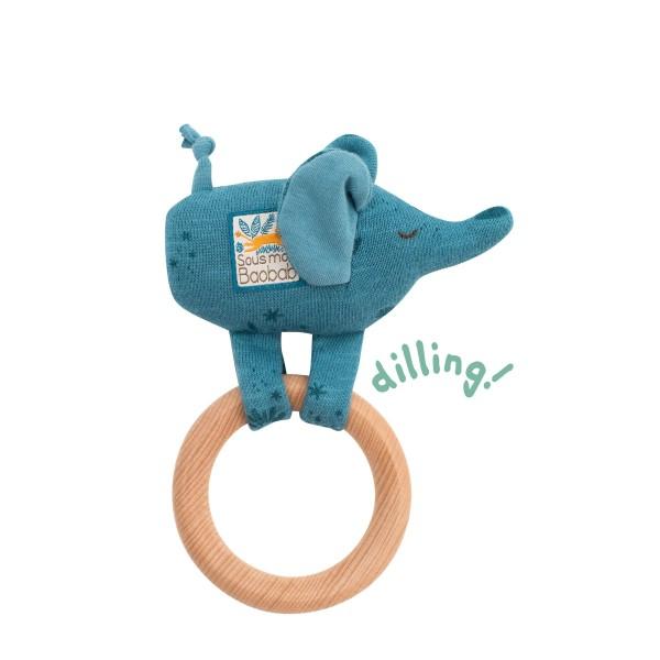Ring-Rassel Elefant
