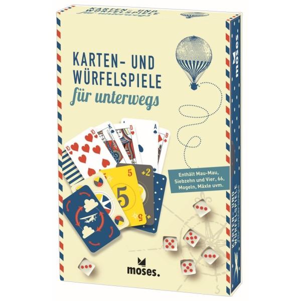 Fernweh Karten- und Würfelspiele