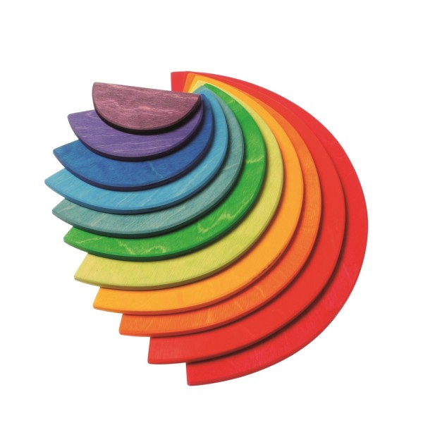 Große Halbkreise Regenbogen