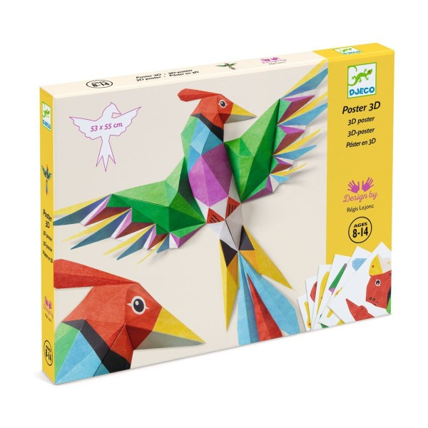 DJECO Papierkunst 3D Amazonie