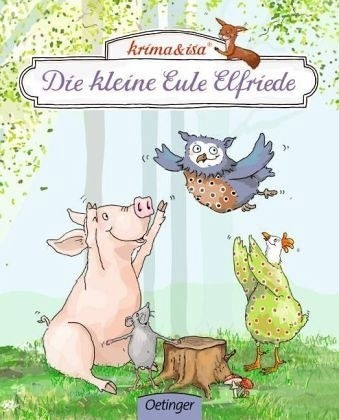 Pappbuch Die kleine Eule Elfriede