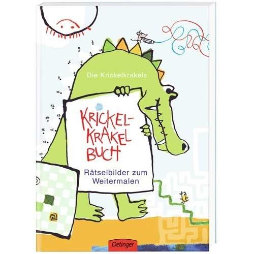 Krickel-Krackel Rätselbuch zum Malen