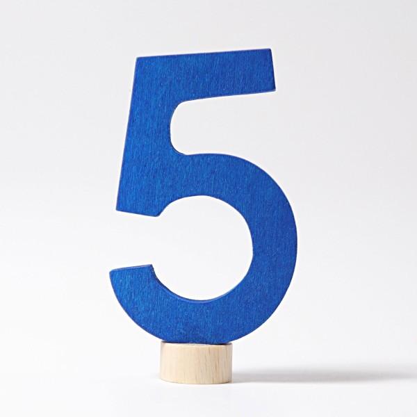 Zahlenstecker 5