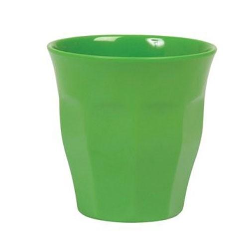 Melamin Becher Satt Grün