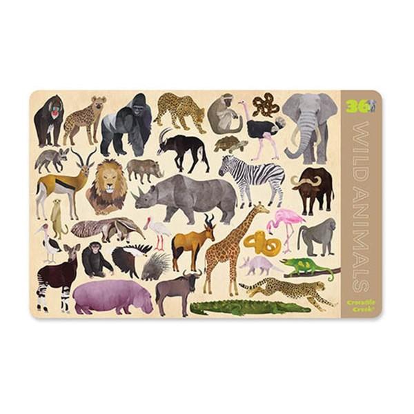 Tischset Wilde Tiere