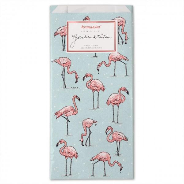 Geschenktüte Flamingo