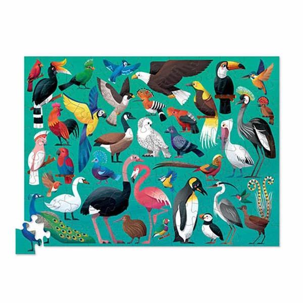 Puzzle 36 Vögel