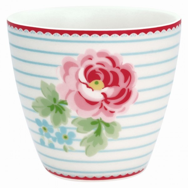Latte Cup Lily white