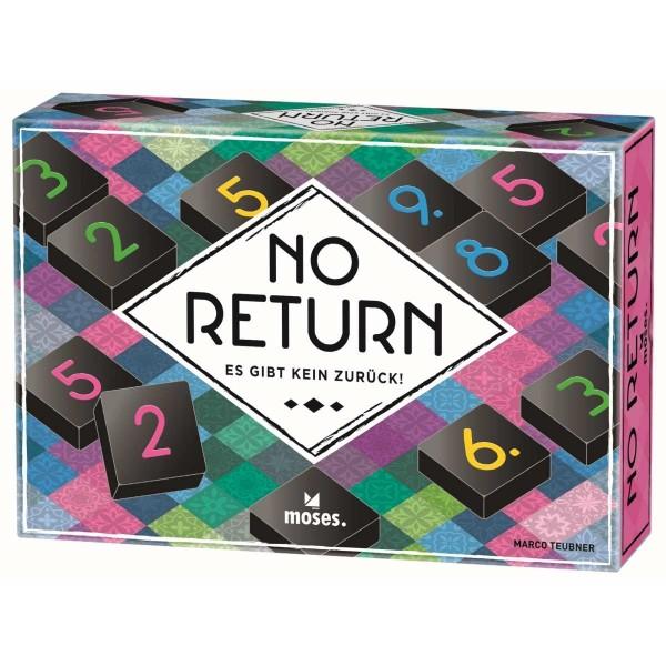 No Return - Lege- und Sammelspiel