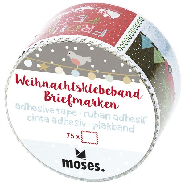 Weihnachtsklebeband Briefmarken