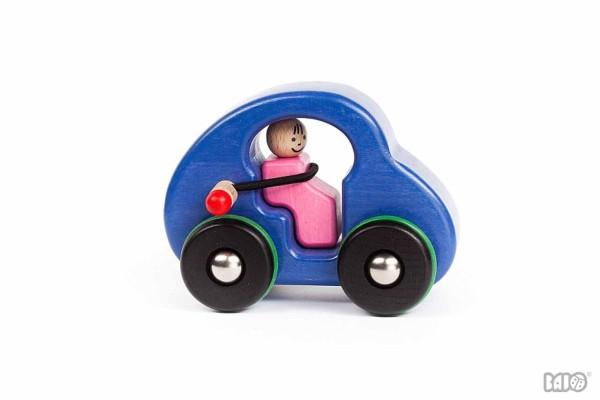 Fasten Seatbelt Auto blau