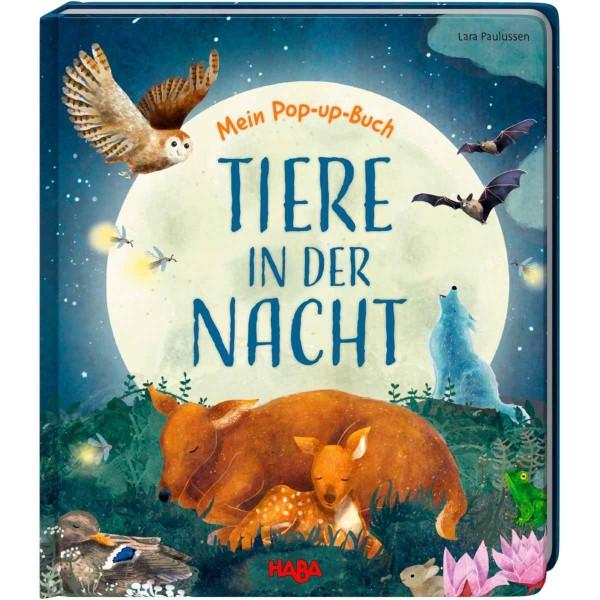 Mein Pop-up-Buch – Tiere in der Nacht