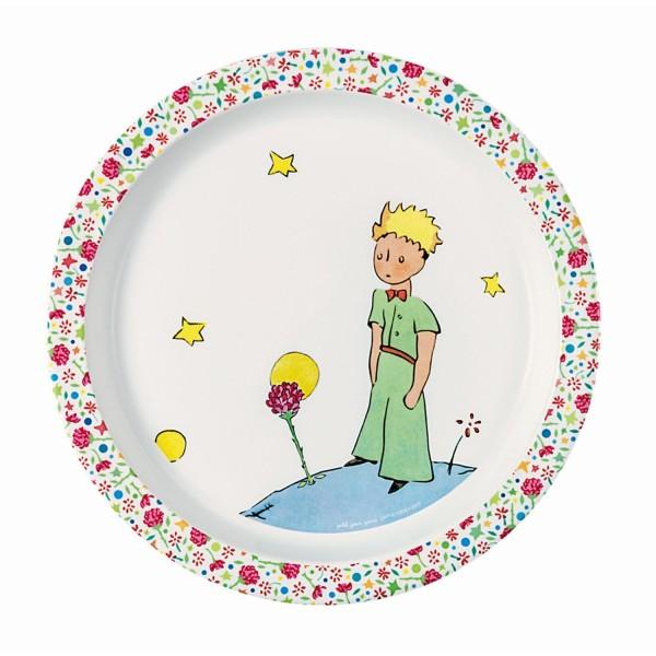 Baby Melamin - Teller rosa Der kleine Prinz