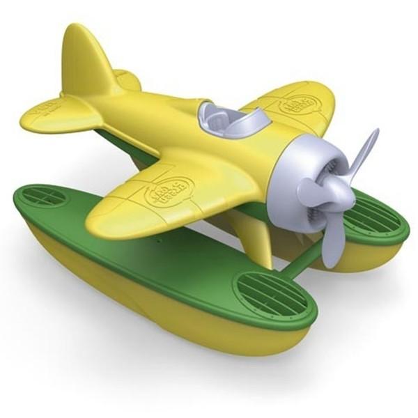 Green Toys Wasserflugzeug, gelb
