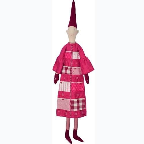 Adventswichtel Mädchen Rot