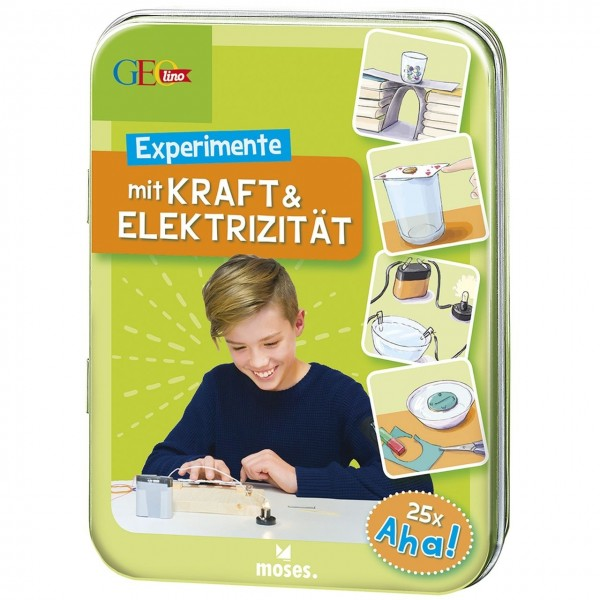 GEOlino Experimente mit Kraft & Elektrizität