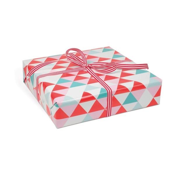 KRIMA Geschenkpapier Dreieckmix