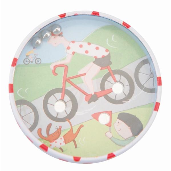 Geschicklichkeits-Kugelspiel, Fahrrad