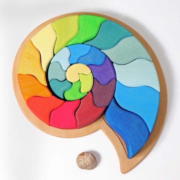 Legespiel Ammonit Schnecke