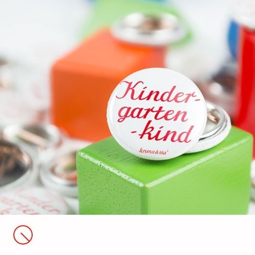 Button Kindergartenkind