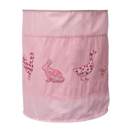 Lampenschirm Huhn & Freunde rosa