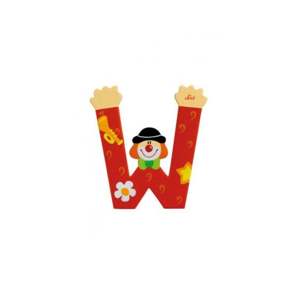 Buchstabe Clown W