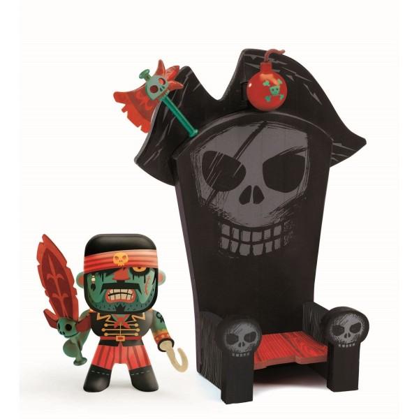 Arty Toys Pirat Kyle & sein Thron