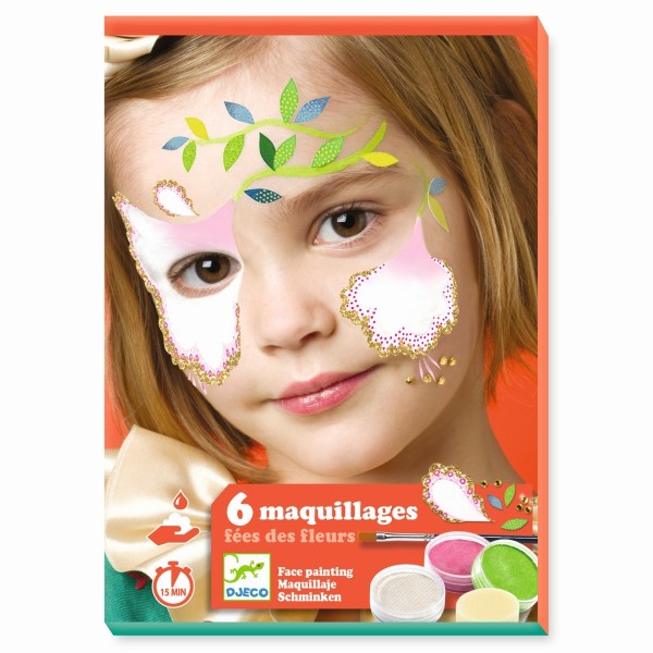 Kinderschmink Set: Blumenfee