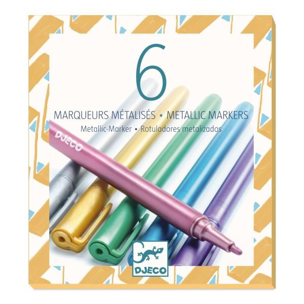 Farben: 6 Metallic Marker