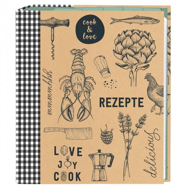 cook & STYLE Rezeptordner A5 cook & love