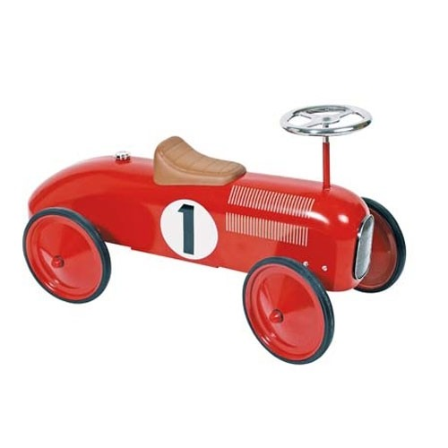 Rutscherfahrzeug Oldtimer Rot Nr. 1