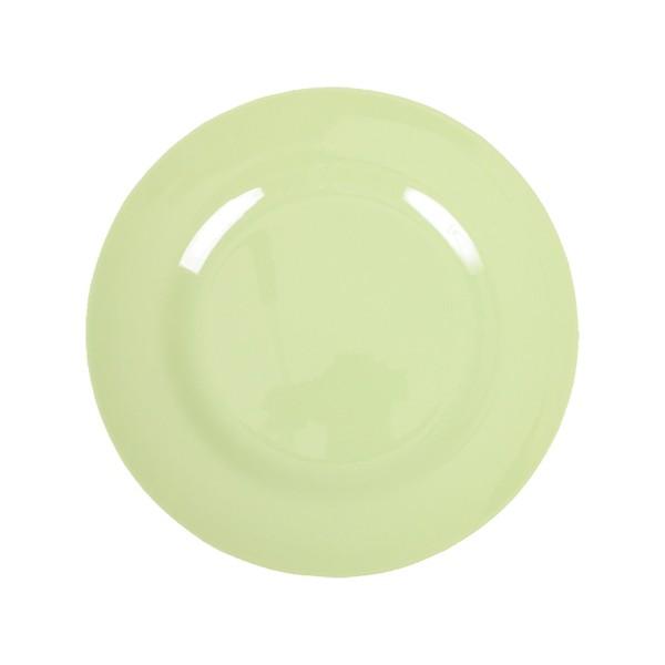 Melamin Teller -Mint klein