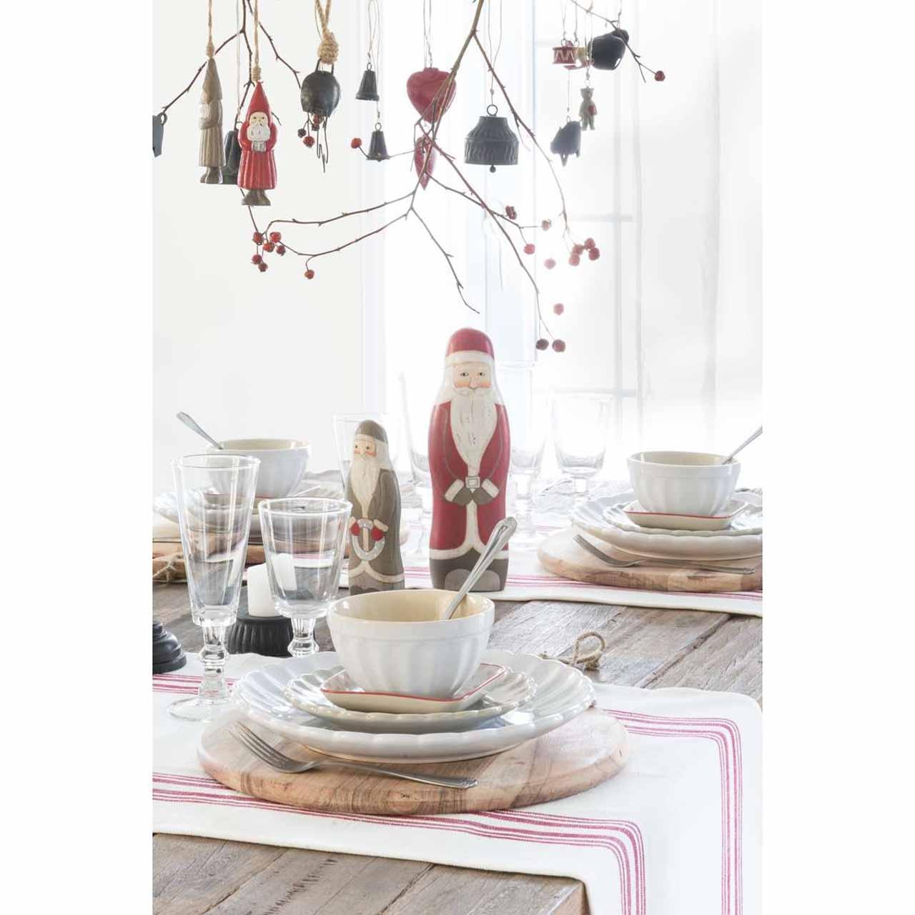 weihnachtsmann stehend rot l festliche zeiten wohnen. Black Bedroom Furniture Sets. Home Design Ideas