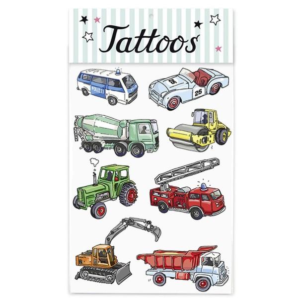 KRIMA Tattoo Fahrzeuge