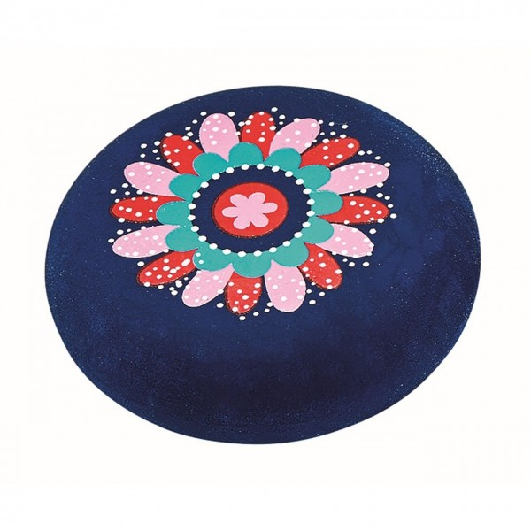 Radierer Flower&Dots