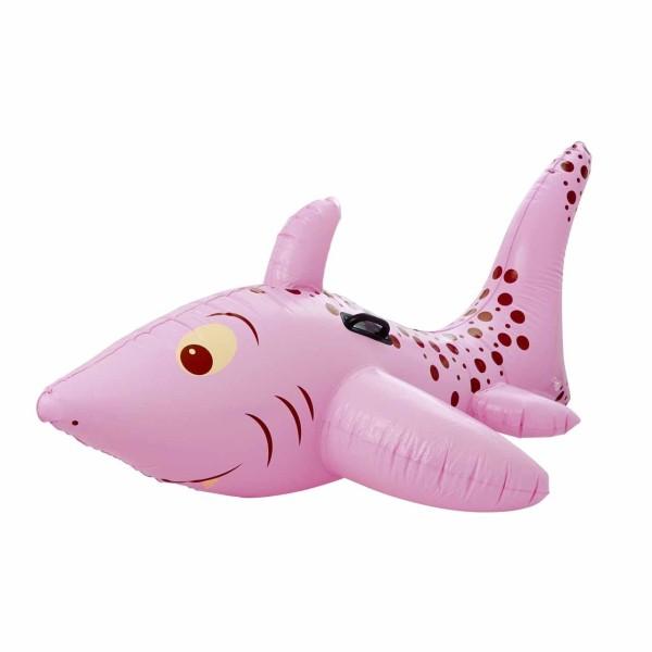 Aufblasbarer Haifisch pink
