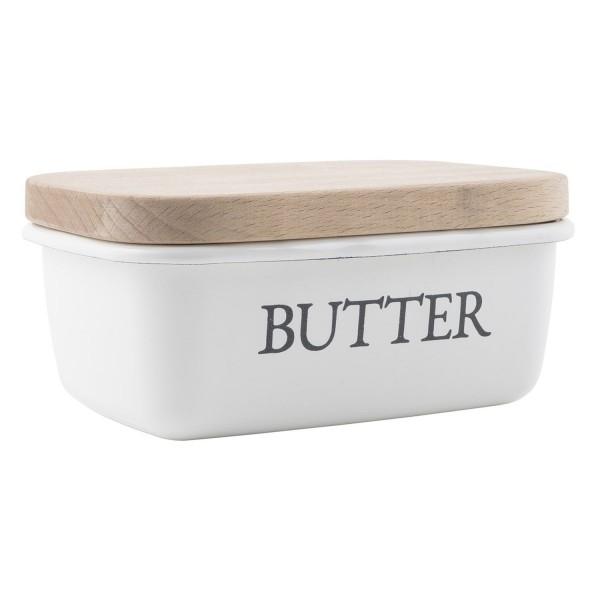 Butterschale Holzdeckel