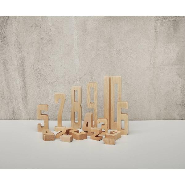 Holzzahlen (15-teilig)