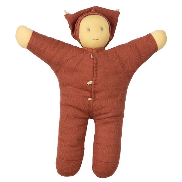 Puppe Matty rot